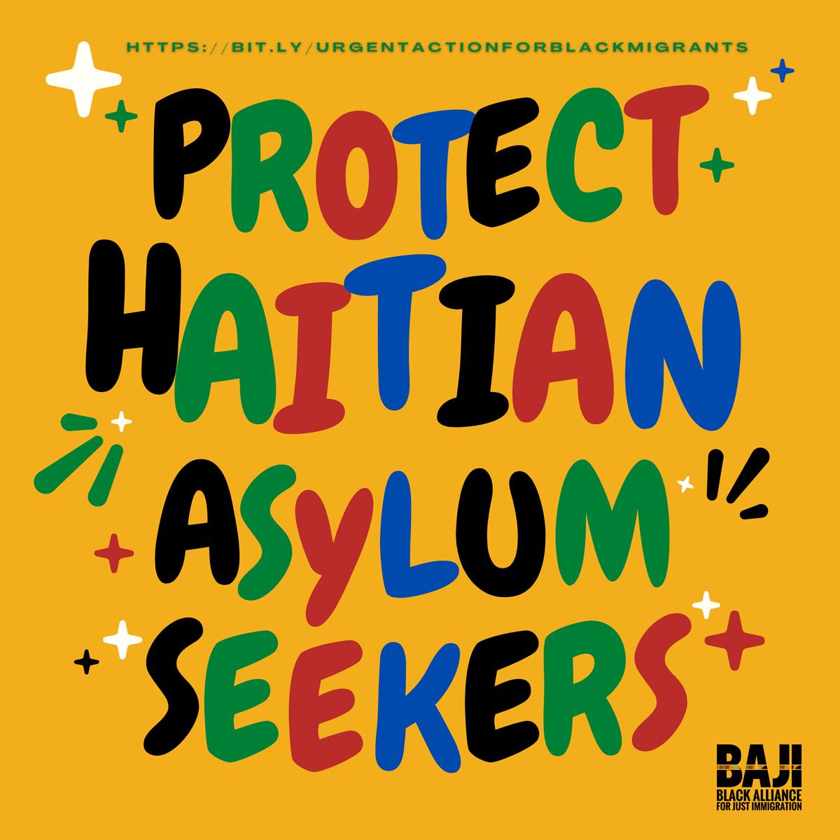 Protect Haitian Asylum Seekers Toolkit